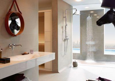 Amenajare Baie Hansgrohe – Axor Showerpipe – Front