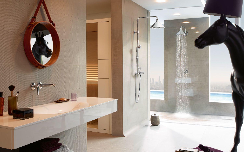 Amenajare Baie Hansgrohe - Axor Showerpipe - Front